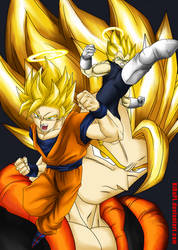 Legendary Power of SuperSayian HD by KiRaPL