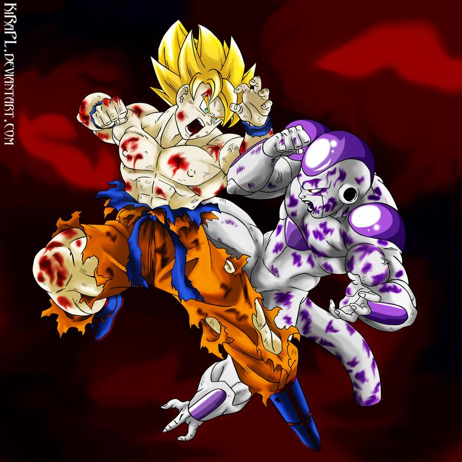 Sacrifice - Son Goku VS Freezer by KiRaPL