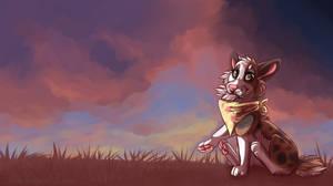 I like bunny tails! by Okoe