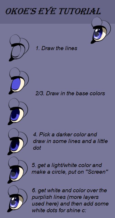 Okoe's Eye tutorial by Okoe
