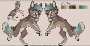 Rollo Reference sheet 2017 by Okoe