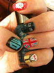 Doctor Who Nail Art Part 1