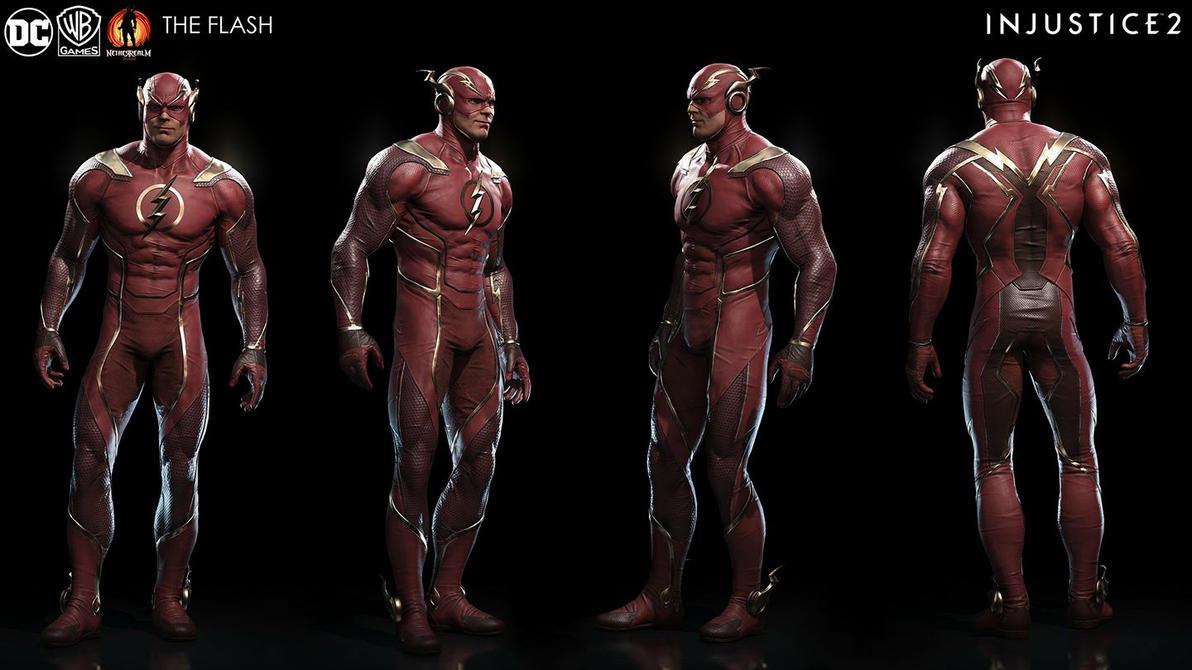 the flash injustice 2 by sebalangdon