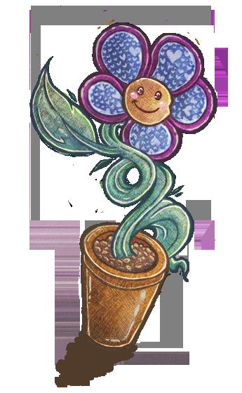 Mini flower (simplistic) by emmasillanpaa