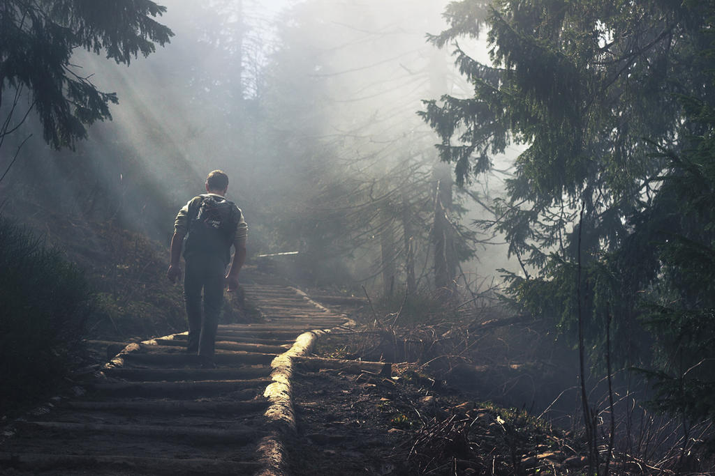 Long walk by maariusz