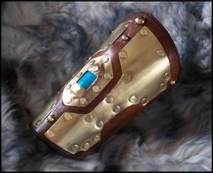 Aqua Regia Bracer by SteamViking