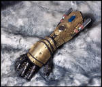 Steampunk Gauntlet - Pneumatic Battle Fist