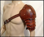 Warrior's Leather Pauldron