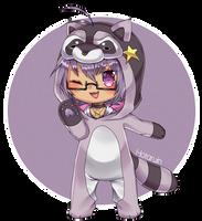 [AT] Yip yip! Tis a Raccoon