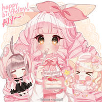 [g] happy birthday Aly !! by rinihimme
