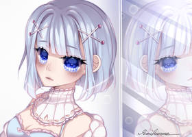 [r] azure in her eyes by rinihimme