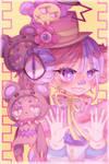 [g] flower bear friends