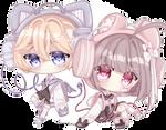 [oc] caramel duo