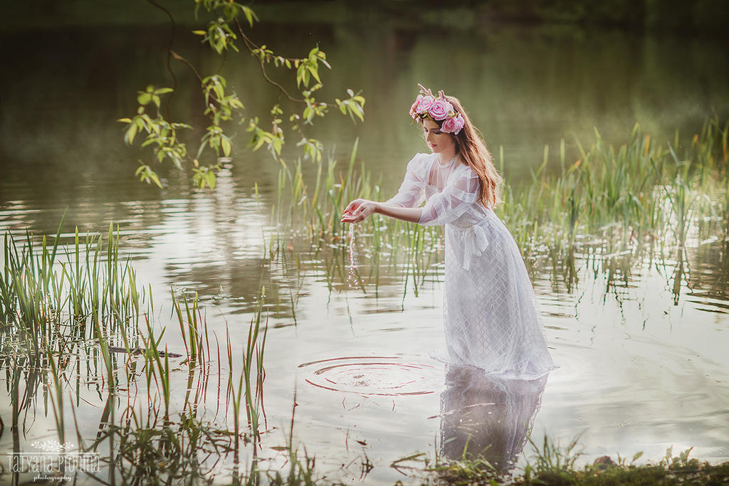 Fairytale about old pond (2) by Swan-Lake