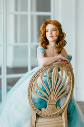 Watercolor dress III