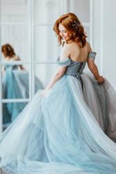 Watercolor dress IV