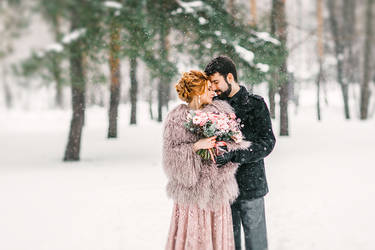Winter wedding by Swan-Lake