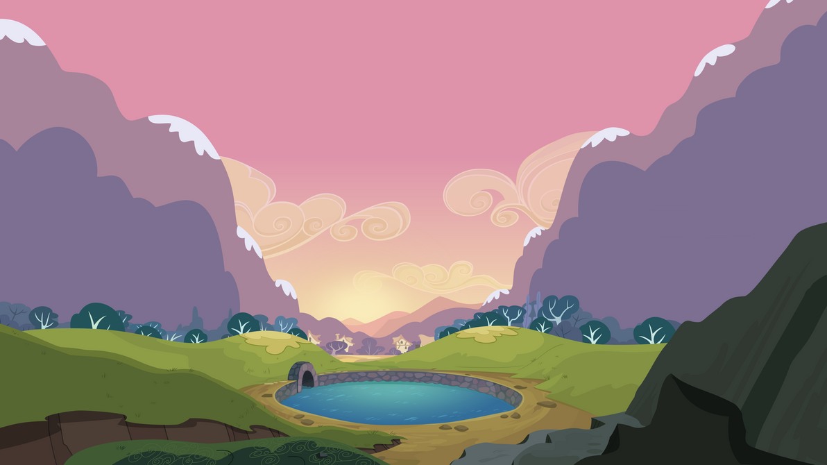 Group Background #5 - Water Reservoir by MLP-Vector-Collabs