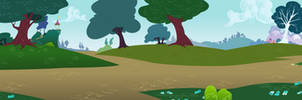 Group Background #11 - Ponyville Outskirts