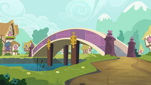 Group Background #12 - A Bridge In Ponyville