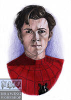 Spider-Man by drawingsbynatalia