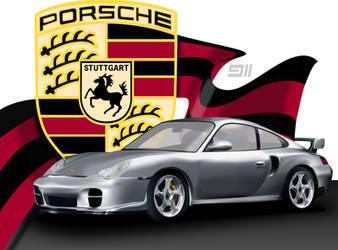 Porsche 911 Vector by AdRoiT-Designs
