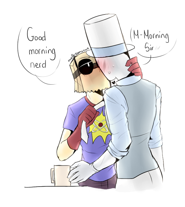 [Villainous Heroic] His nerd by owoSesameowo