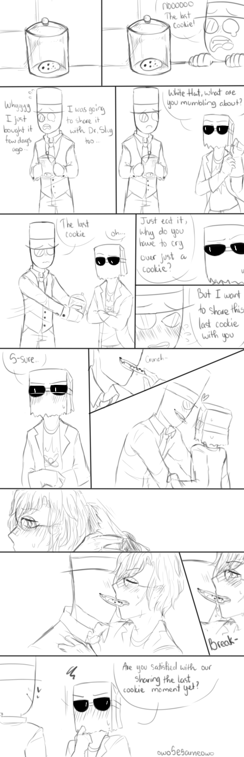 [PaperHat Request 1]: Sharing cookie by owoSesameowo