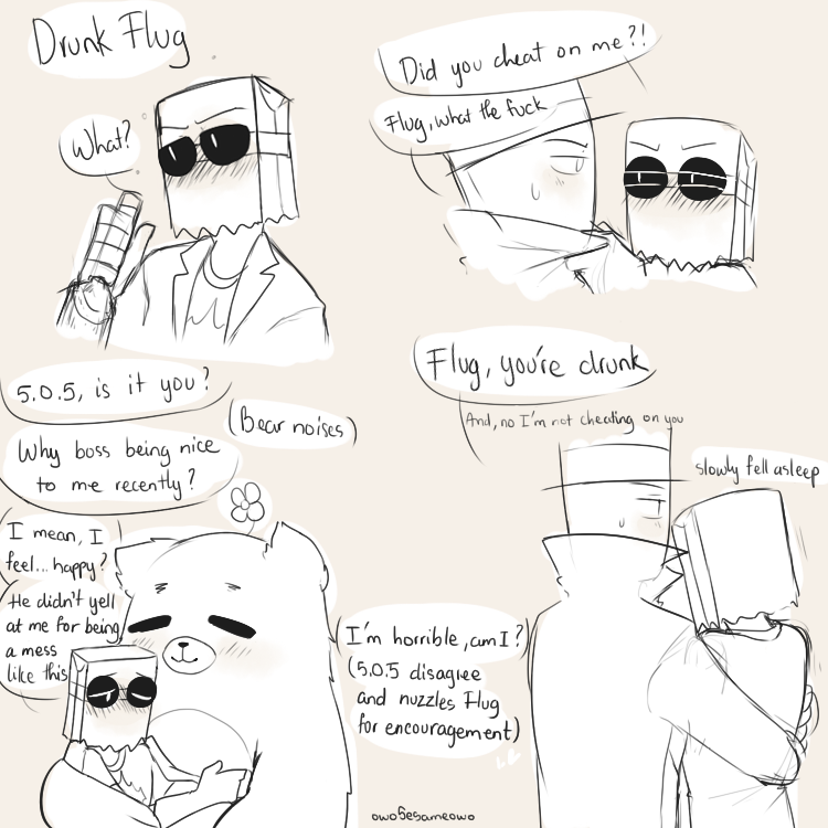 Villainous] Drunk Flug by owoSesameowo on DeviantArt