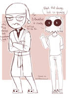 [Villainous] Flug can't stop being cute by owoSesameowo