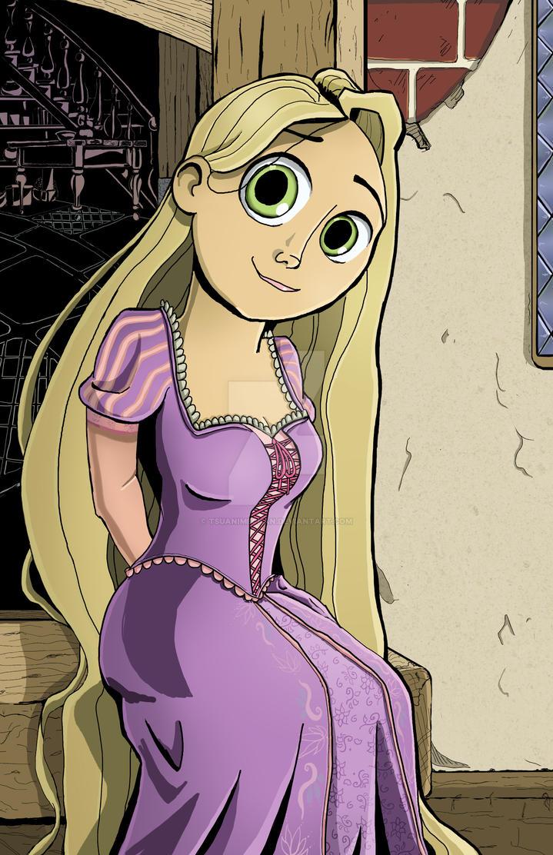 Rapunzel by tsuanimechan
