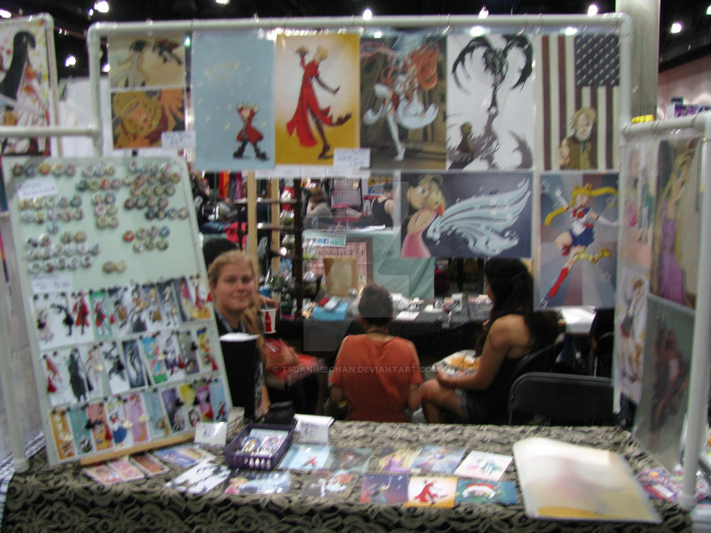 Epic Artist Alley At Anime Expo 2014 By Tsuanimechan