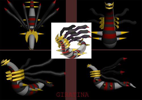 Pokemon: 3D Giratina by xboxdude7281