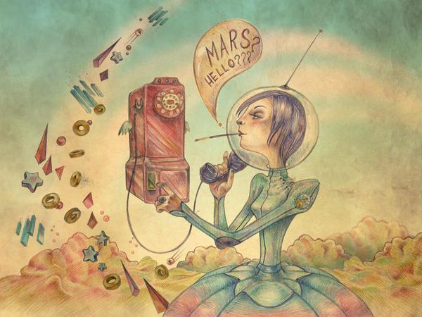 Mars?Hello???? by Kluke