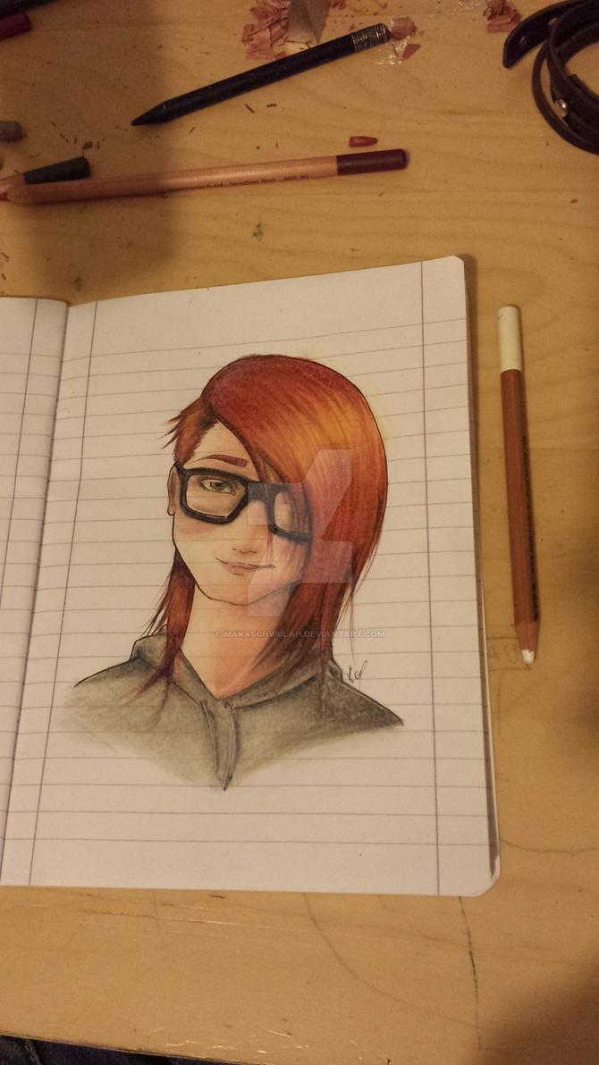 Uhm yay, I love drawing redheads. by MakaSchwulah
