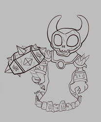 [WIP] Ragnaros the fire Lord (Chibi)