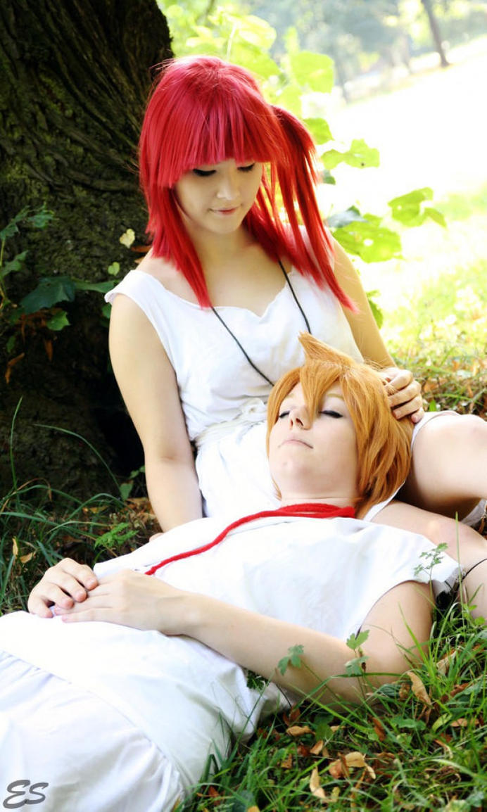 Magi - A place to rest - Alibaba and Morgiana by PinoStrawberry
