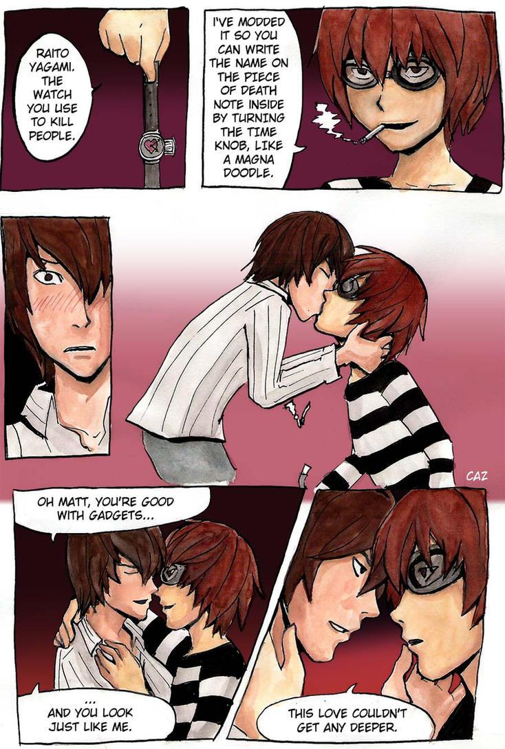 Raito and Matt is love by Go-Devil-Dante
