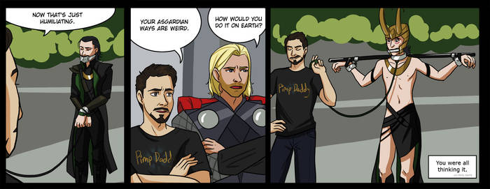 so you know at the end of Avengers...