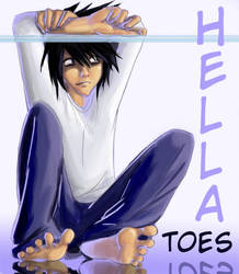 HELLA TOES ID entry, L.... by Go-Devil-Dante