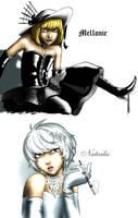 Mellonie and Natealie by Go-Devil-Dante
