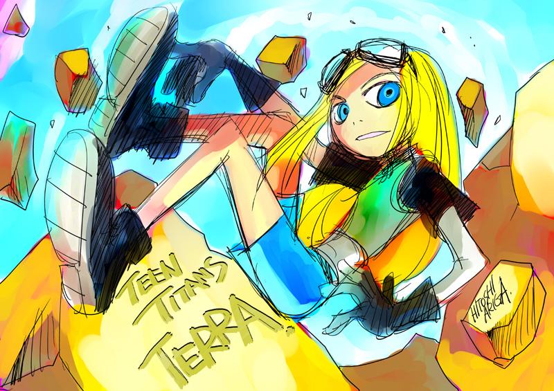 Teen Titans - TERRA by HitoshiAriga