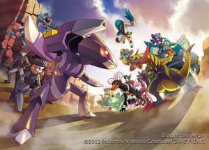 Pokemon Card Game BW Concept Art