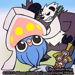 Pocket Monsters XY by HitoshiAriga