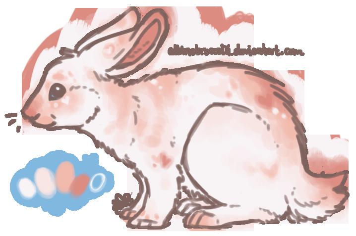 100pt Valentine's Bunny [CLOSED] by albinobroccolii