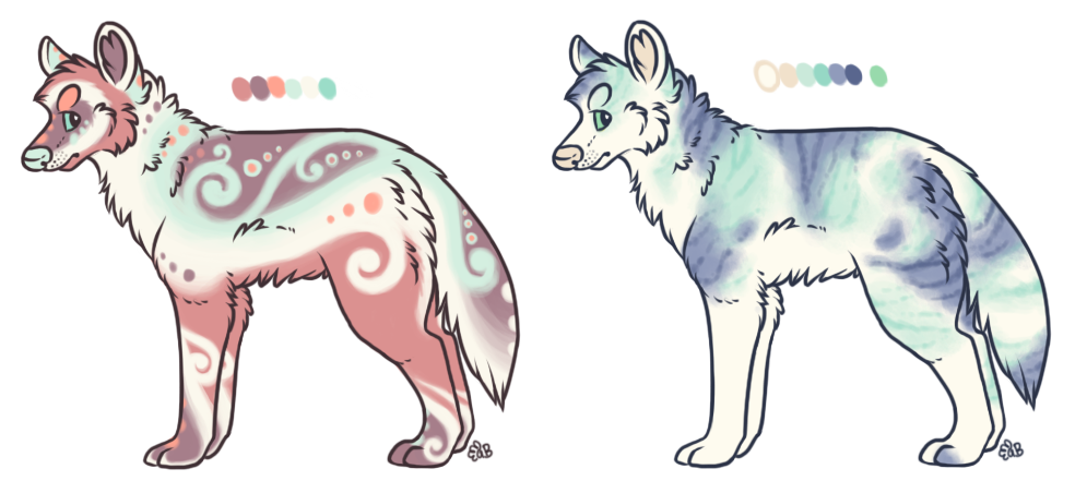 Wolf Designs - now up for flatsale by albinobroccolii