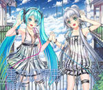 MIKU and Luotianyi