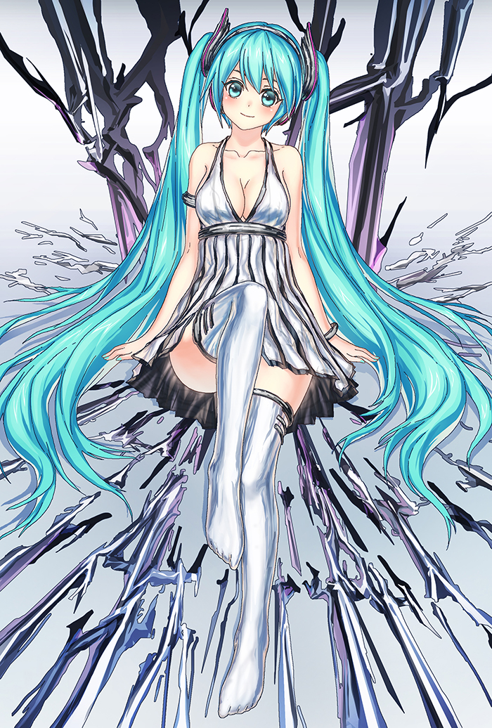 Hatsune Miku by devilkero