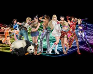 Characters of Tekken 6 by 1126jjk