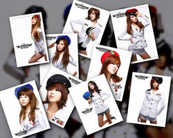 Girls Generation Picture Pile by 1126jjk